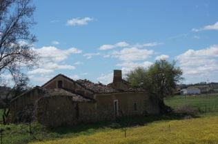 Ruinas de una casa enorme