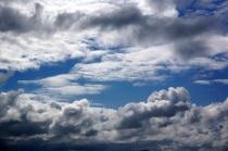 Nubes grises