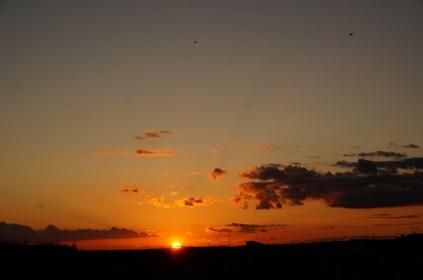 puesta sol