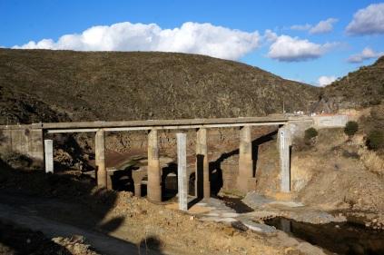 Puentes en el risco Martiago
